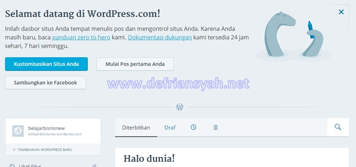 Cara Bikin Blog WordPress