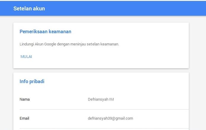 Cara Membuat Akun Google | Cara Membuat Email