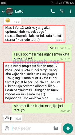 Testi Private SEO 3