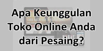Kenggulan Toko Online