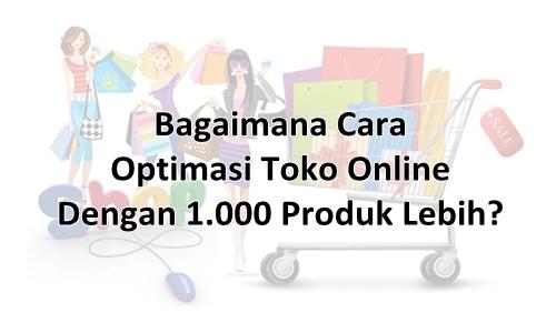 Optimasi Toko Online 1000 produk