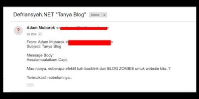 Seberapa Efektif Backlink dari Blog Zombie