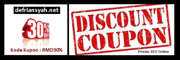 Kupon Diskon 30%