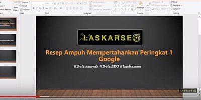 Resep Ampuh Mempertahankan Peringkat 1 Google