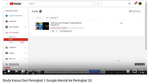Dari Peringkat 1 Google Mental ke Peringkat 20