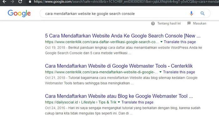 Temukan Cara Mendaftarkan Website Ke Google Terbaru