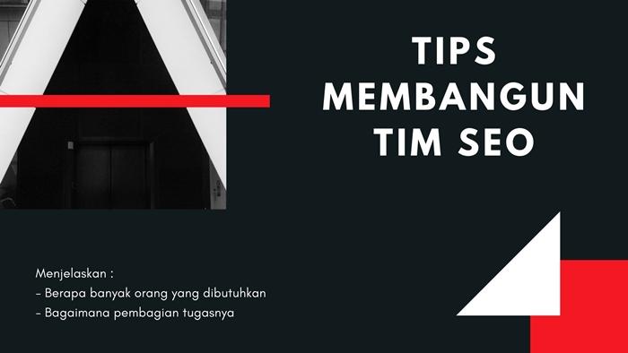 Tips Membangun Tim SEO
