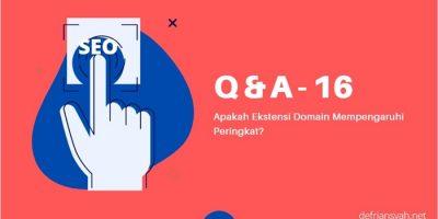 Apakah Ekstensi Domain Mempengaruhi Peringkat