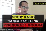 Tanpa Backlink Peringkat 1 Google