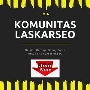 PROMOSI KOMUNITAS LASKARSEO
